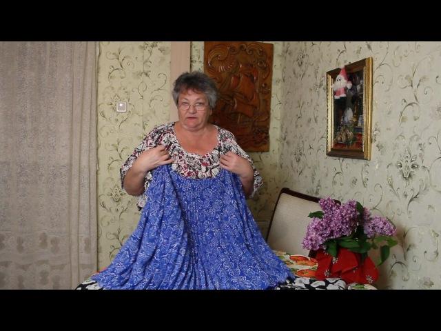 Как сшить платье балахон из ненужных тряпок