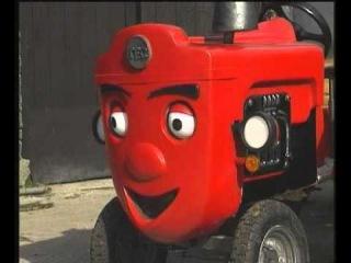 Przygody czerwonego traktorka - Pora na posiłek