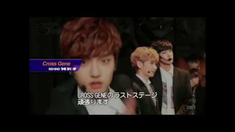 [ENG SUB] Behind The Show - Cross Gene [15/04/10]