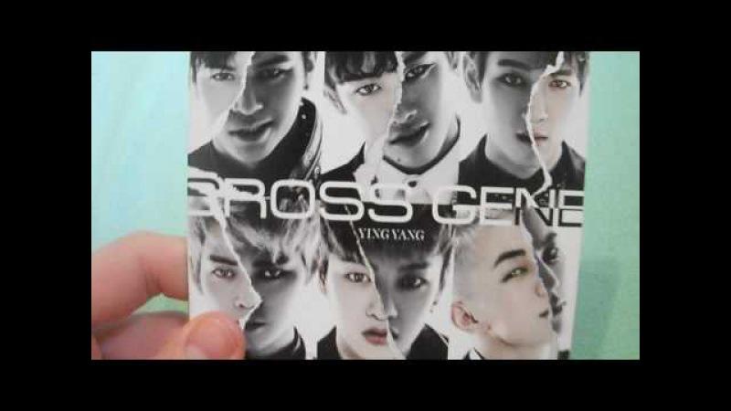 (크로스진) Cross Gene - 1st Japanese Album - YING YANG - CDDVD Unboxing/Review