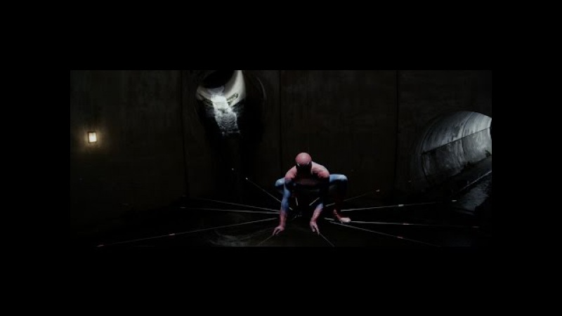 Homem Aranha vs Lagarto (luta no esgoto) DUBLADO HD | O Espetacular Homem Aranha (2012)