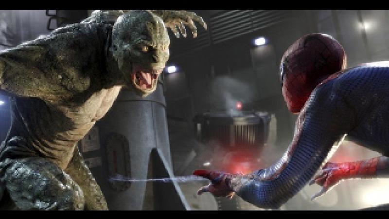 Homem Aranha vs Lagarto (luta final) DUBLADO HD | O Espetacular Homem Aranha (2012)
