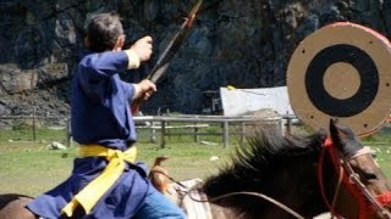 World Cup 2012 Horseback Archery. Чемпионат мира по стрельбе из лука верхом на лошади.