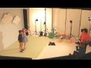Primark Kids Easter Shoot backstage with David Handley