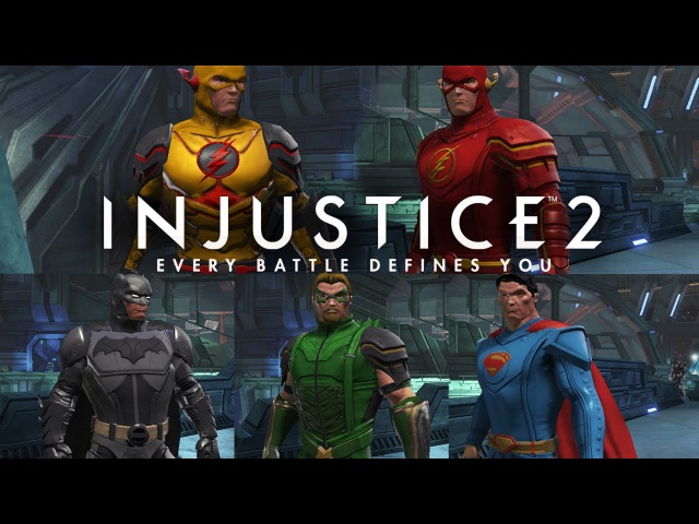 [DCUO] Closet (Injustice 2) - The Flash,The Reverse Flash,Green Arrow,Superman and Batman