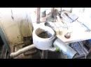 горелка(чаша) на отработке в тт котел(часть 1)
