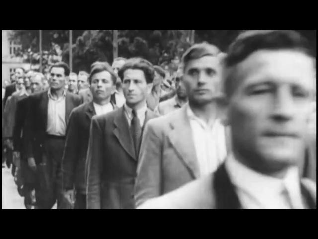 Парад героев-добровольцев дивизии СС