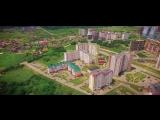 Потрясающая аэросъемка над Гидростроем в Краснодаре / видео Airchel