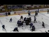 Две массовые драки устроили юные хоккеисты в матче за третье место на детском турнире в Молодечно. Белоруссия