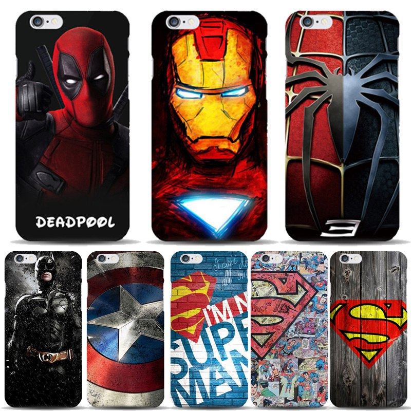Супергеройские чехлы на iPhone