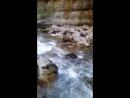 горная чистая река в Абхазии