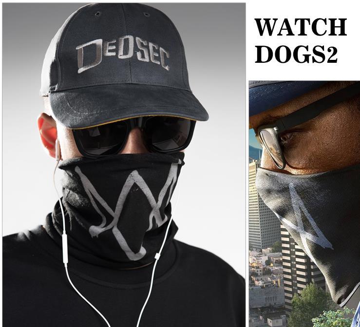Кепка+маска Dedsek Watch Dogs 2