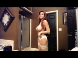 Ласкает себя пока никого нет дома (Girls Teen Boobs Tits Секс Порно Попка Сиськи Грудь Голая Эротика Трусики Ass Соски 1080)