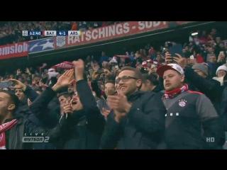 Бавария - Арсенал. Дубль Тьяго