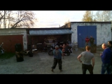 Стриптиз на открытие байксезона в Чапаевске 29.04.17