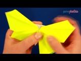 Очень красивая оригами бабочка)))Всем советую просмотреть и попробовать!!!