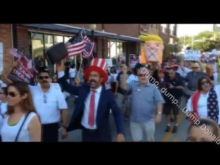 RULA BROWN - Dump Donald Trump Song w- Lyrics (Shank I Sheck Riddim)