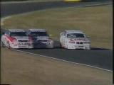 P. Morris (#BMW) vs B.Jones (#Audi) vs G.Murphy (Audi) (1995 #ASTC at Lakeside)