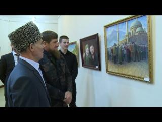 Выставка Заслуженного художника Чеченской Республики Анди Шамилова