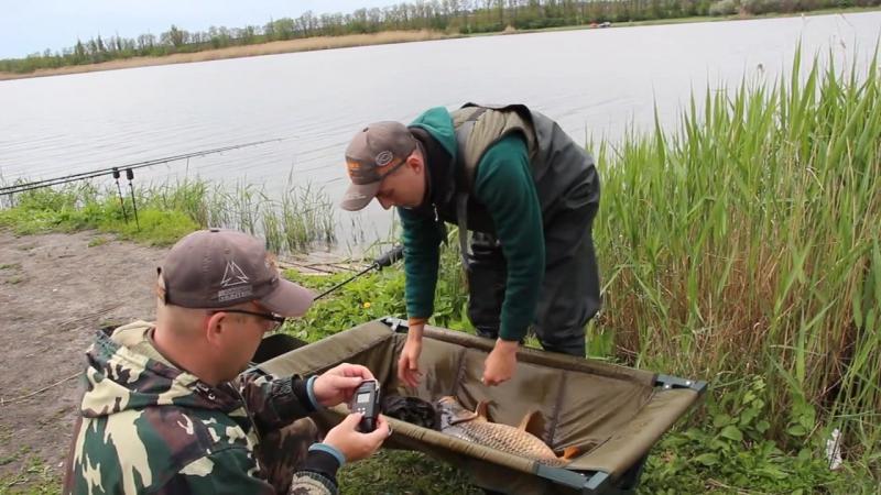 Ловля карпа на бойлы.Неожиданный конец рыбалки.Марьевское водохранилище 13-14.05.2017