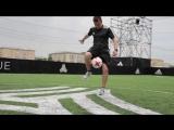 Футбольный фристайл на adidas BASEMOSCOW