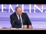 """Путин не смог ответить на вопрос׃ """"Как прожить на 8 тысяч рублей в месяц؟"""""""