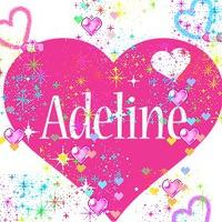 Картинки, детскую открытку с днем рождения с именем аделина деля
