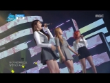 MAMAMOO - Its Okay (BTOB cover) @ Music Cores 500th Ep. Special 160416