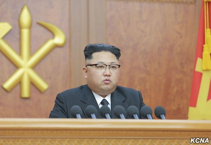 Новогодняя речь Ким Чен Ына