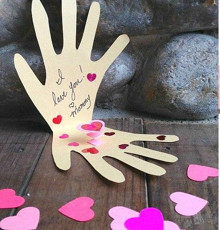 открытки  с детьми своими руками