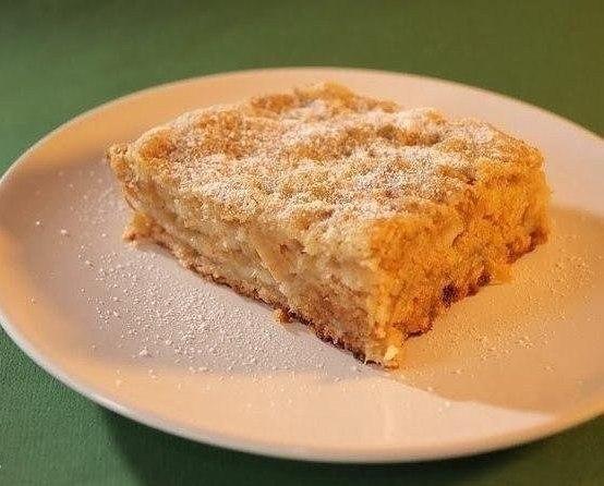 """""""Самый простой в мире яблочный пирог"""" Ингредиенты на"""