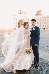 Наша 👰💍#невестаАледа #brideAleda Уткина Алена в платье  👗 Гаелл😍 #gabbiano
