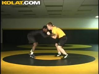 Сary kolat - freestyle wrestling. collar tie drill