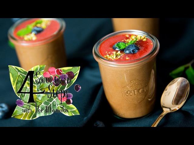 4ステップで出来るふんわりチョコムース|Fluffy Chocolate Mousse in 4 Easy Steps