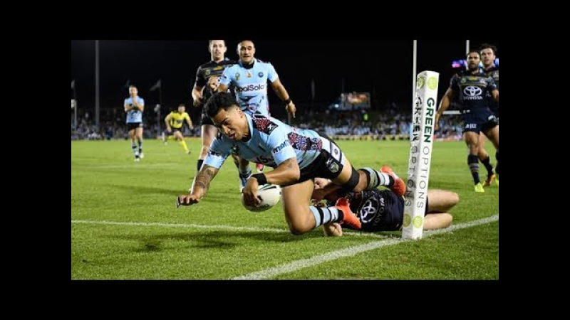 NRL 2017 Round 11 Highlights: Cowboys Vs Sharks