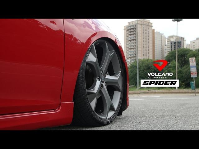 Cruze Sport6 LTZ com rodas Volcano Spider aro 20x7,5