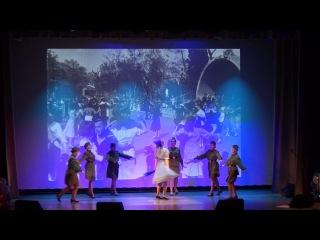 Карусель Синий платочек, концерт в честь75 летия парада на Красной площади