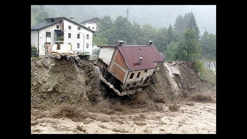 Самые страшные последствия оползней. The most terrible consequences of landslides