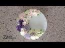 Нежный торт с кремовыми розами. Цветы из крема! Cake with buttercream flowers