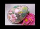 Decoupage Easter Egg - Decoupage su uova di Pasqua