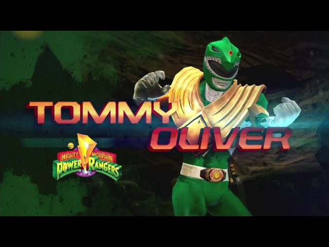 Power Rangers: Legacy Wars MMPR Green (Moveset)