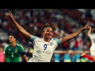 Jodie Taylor Vs Scotland // WEURO ⊕ 2017, Hat-trick!