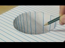 Drawing a Round Hole - Trick Art with Graphite Pencil - By Vamos