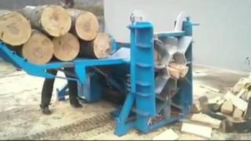 Бизнес идея. Супермашины для заготовки дров в промышленных масштабах