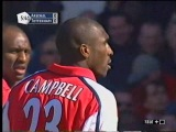 Арсенал 2 - 1 Тоттенхэм, 200102