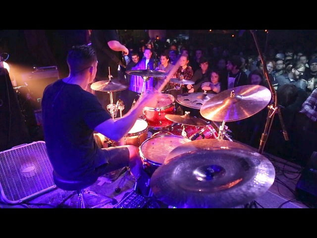 Intervals - Libra [Troy Wright] Drum Cam Live [HD]