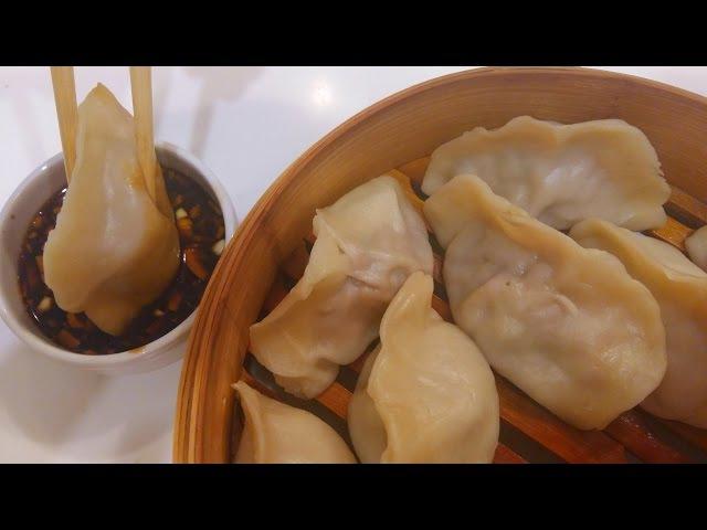 Китайская кухня Китайские пельмени цзяоцзы 饺子 jiǎozi mp4