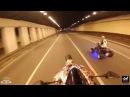 Stunt Honda cbr600/ Yamaha Raptor 700