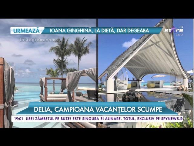 Delia, campioana vacanțelor scumpe