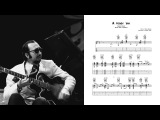 A Foggy Day - Barney Kessel (Transcription)